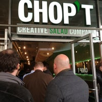 Photo taken at Chop't Creative Salad Company by Taylor M. on 3/11/2013