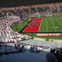 Photo taken at Nippert Stadium by LastName W. on 8/31/2013