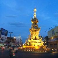 Photo taken at Chiang Rai Walking Street by Nami P. on 11/1/2014