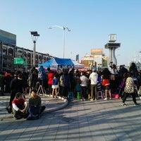 Photo taken at Cheongnyangni Stn. by kt p. on 5/5/2013