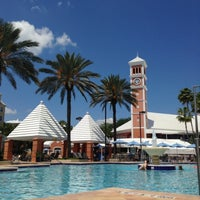 Photo taken at Hilton Grand Vacations at SeaWorld by Kathleen on 5/9/2013
