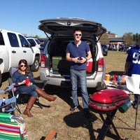 Photo taken at Lot X - Jaguars Party Central! by Kathleen L. on 11/30/2014