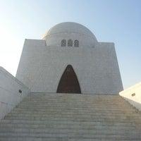 Photo taken at Mazar-e-Quaid by norbert a. on 1/5/2014