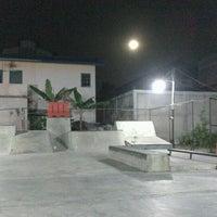 Photo taken at AB Skatepark by Fajar K. on 1/27/2013