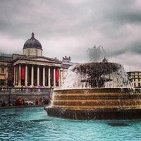 Photo taken at Trafalgar Square by JOEL C. on 7/20/2013