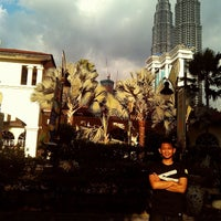 Photo taken at KLCC  Twin Tower by muhammad s. on 11/24/2013