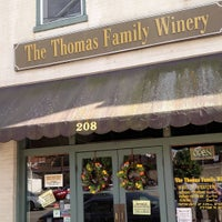 Photo taken at Thomas Family Winery by Rachel R. on 7/19/2015
