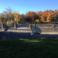 Photo taken at Lansing River Trail by Eric L. on 10/26/2014