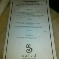 Photo taken at Salud Tequila Lounge by Megan on 12/6/2012