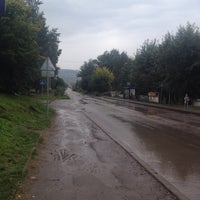 Photo taken at ост. Молодежный центр by Kate S. on 9/9/2014