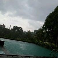 Photo taken at Swimming Pool Bumi CIMB Niaga by Ria P. on 12/8/2012
