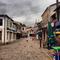 Photo taken at Стара скопска чаршија | Skopje Old Bazaar by Fatih G. on 10/16/2013