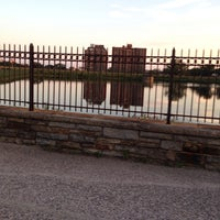 """Photo taken at Druid Hill Park Lake Loop by 💥Gregory """"Gee Dub"""" W. on 8/25/2014"""