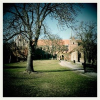 Photo taken at Zisterzienserkloster Chorin by Johann G. on 3/3/2013