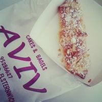 Photo taken at Aviv Cakes & Bagels by U'Llynda D. on 1/18/2014