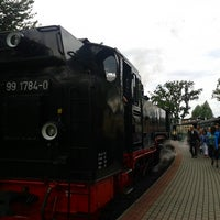 Photo taken at Bahnhof Sellin Ost by Christian on 7/13/2014