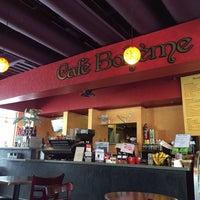 Photo taken at Cafe Boheme by Alyssa M. on 2/19/2014