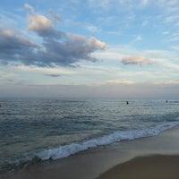 Photo taken at Sokcho Beach by sshong on 7/20/2013