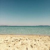 Photo taken at Ilıca Plajı by Çağla on 6/21/2015