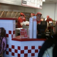 Photo taken at Five Guys by Steve S. on 12/26/2012