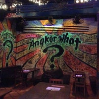 Photo taken at Angkor What? Bar by Declan on 10/6/2012