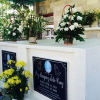 Photo taken at Obando Cemetery by Aila A. on 11/2/2014