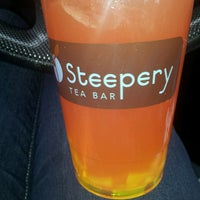 Photo taken at Steepery Tea Bar by Krystal C. on 3/4/2013