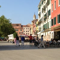 Photo taken at Campo Santa Margherita by Michael W. on 7/17/2013