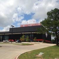 Photo taken at Adam Smith's Texas Harley-Davidson by Agnaldo F. on 5/19/2016