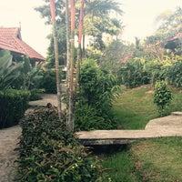 Photo taken at Chaw-Ka-Cher Tropicana Lanta Resort by Maik on 11/30/2014