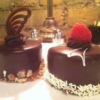 Photo taken at Truffles & Tortes Dessert Cafe by Vivian M. on 10/18/2012