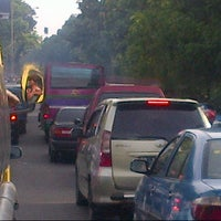 Photo taken at Jalan Raya Lenteng Agung by eko on 12/1/2012