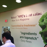Photo taken at Tossed by Susana M. on 10/11/2012