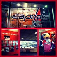Photo taken at Kettler Capitals Iceplex by Bee D. on 12/9/2012