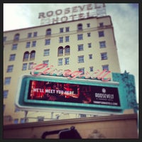 Photo taken at The Hollywood Roosevelt by Ken P. on 1/30/2013