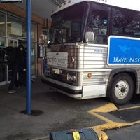 Photo taken at Pacific Coach Lines Bus Depot by Franco T. on 11/5/2012