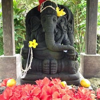 Photo taken at Kauai Hindu Monastery by Spencer J. on 12/4/2013