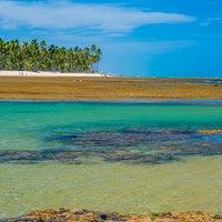 Photo taken at Praia do Forte by #TIMBETA .. on 1/5/2014