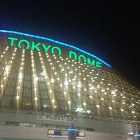Photo taken at Tokyo Dome by hi6ka2 on 3/10/2013