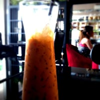 Photo taken at Colette Cafe' Coffee & Bakery by Nragorn T. on 1/6/2013