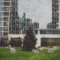 Photo taken at Microsoft/Bing HQ City Center Plaza by Oleg Z. on 12/6/2012