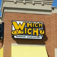 Photo taken at Which Wich? Superior Sandwiches by Barbara K. on 3/14/2013