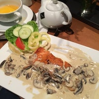 Photo taken at Restaurace Aura by Hùng P. on 10/6/2014