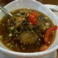 Photo taken at Sop Buntut Bogor Cafe by Benny A. on 10/12/2012