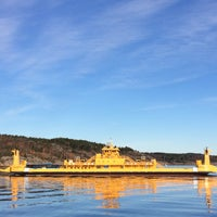 Photo taken at Gullmarsfärjan by Asami Y. on 10/30/2016