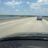 Photo taken at Mile Long Bridge by Chelsey F. on 5/29/2014