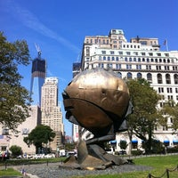 Photo taken at Battery Park by Marie Z. on 9/14/2012