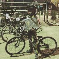 Photo taken at Catcus Park BMX by Marie Z. on 8/2/2015