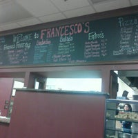 Photo taken at Francesco's Pizzeria by scott l. on 2/10/2013