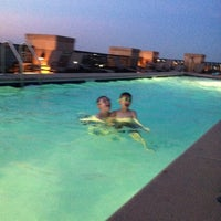Photo taken at The Whitman Rooftop Pool by Lisa A. on 7/6/2014